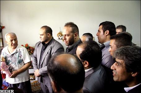 آخرین حضور روح الله داداشی در آسایشگاه کهریزک به مناسبت میلاد حضرت علی(ع)